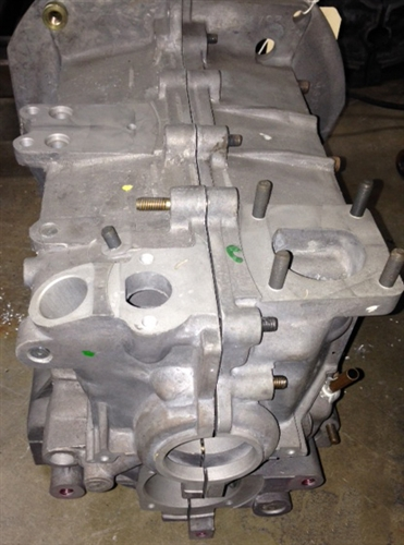 Vw Aftermarket Parts >> New factory VW Volkswagen 1600cc AS41 magnesium engine case 043101025, 98-0431-B, This case ...