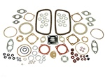 111198007AF, Elring 1600cc engine gasket set. This kit is made by an OEM manufacturer. This gasket set has always been the engine builders choice when it comes to quality. The pushrod tube seals do not harden like the cheap red ones.