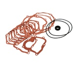 111398005A, This is a complete gasket set for VW Volkswagen Beetle manual transmission. It will fit all swing axle and Irs transmissions.<Transmission gasket set for type 1  VW Volkswagen beetle bug, early bus, type 3 square back, fastback, karmann ghia,