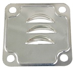 Oil baffle gasket for alternator generator stands on VW Volkswagen 113101221B 8991 9194 113101211g You should always use a new metal baffle gasket when replacing the alternator stand. It is a crush style gasket that is only used once. I use high temp sili