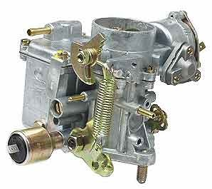 Stock replacement 34 pict 3 carburetor for VW Volkswagen with 12 volt choke  and idle cut off valve for dual port motor, 1600cc engine Bug and Super