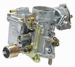113129031K solex, bocar, 34 pict, 34pict, stock carb stock carburetor dualport, Carburetors for VW Volkswagen. New 34 Pict 3 carb will clear an alternator on dual port 1600 applications, dual arm, 12 volt choke,12 volt idle cutoff.