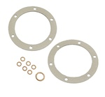 113101031 Screen, plate drain oil sump German oil change gasket kit for VW Volkswagen This a German made oil change gasket set for 40hp and 1600 air cooled vw motors.