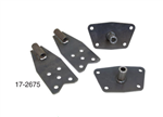17-2675 Rear spring plate conversion kits for VW Volkswagen. SPRING PLATE CONVERSION KIT This kits enables you to remove your stock torsion bars and adapt your housing to heim end trailing arms and coil over shocks. Perfect for that extra travel you are l