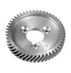 21-2500 Aluminum camshaft gear for VW Volkswagen This is a high quality precision machined aluminum camshaft gear for VW Volkswagen. It is race proven and made for 3 bolt aftermarket  and OEM cams.  Don't be fooled by the shiny cheesy Taiwan cast gears .