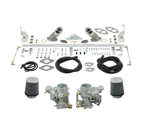 Weber ICT and Empi EPC 34mm dual carburetor kits for VW Volkswagen