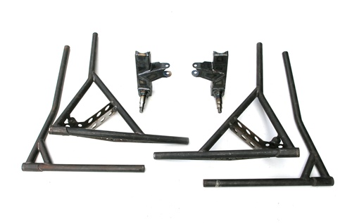 All chromoly A arm spindles with combo stub and upper and lower ...