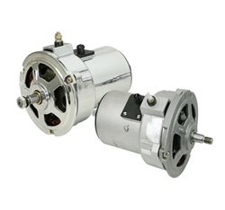 AL82N, AL82X, Bosch 043903023C New 12 volt alternators 55 amp 75 amp 95 amp for VW Volkswagen. New alternators with internal regulators for VW Volkswagen classic Beetles can give your car that higher amperage needed for todays performance lighting and ste