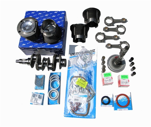 Type 4 Bus 1700cc, 1800cc or 2000cc Engine Rebuild Kit for VW Volkswagen  Type 2 1972-1975 and 1976-1983 Bus and Vanagon