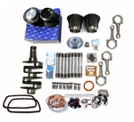 90.5 X 78 Engine Rebuild Kit 2007cc for VW Volkswagen  Our 2007cc engine rebuild kit includes, Mahle 90.5mm graphite coated forged pistons and cylinders, rings, wrist pins, clips, a made in USA 78mm DMS (Demello Machine Shop) forged stroker crankshaft, th
