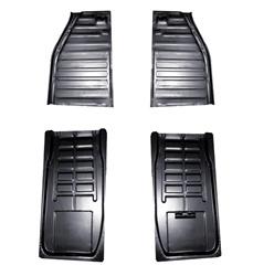 Metal Floor Pan Half Halves For Vw Volkswagen Bug