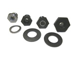 German and performance forged chromoly gland nuts 111105305E, Empi 4029, 4030, Scat 60025, Bugpack 4035-10 German gland nuts have always been the standard for quality when building a motor. Stock 36mm gland nuts are torqued to 254 ft lbs. New performance