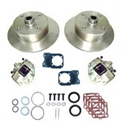 Rear disc brake kits for VW Volkswagen 22-2862, 22-2910, 22-2917, 22-2861, 22-2911, 22-2916, 4x130, 5x130 and Chevy pattern without emergency brake. For off road, play cars 4 on 130 VW Volkswagen, 5 on 130 Porsche, 5 on 4 3/4 Chevy wheel lug bolt patterns