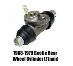 VW Volkswagen replacement wheel cylinders are always a good idea when your restoring brake system. brake hose master cylinder wheel cylinder bug ghia super beetle bus cylinders rear front thing karmann  311611067c 211611047F 211611047C 113611053B 13161105