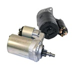 SR11X, SR11N, SR15X, SR15N, SR17X, New and rebuilt Bosch starter for VW Volkswagen. We sell brand new Bosch starters and also offer a Bosch starter that has been rebuilt in the USA. We have sold hundreds of the USA rebuilt starters and feel they are super