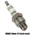 Bosch and NGk performance spark plugs for VW Volkswagen W8AC W8CC W7AC W7CC NGK D7EA D8EA Original Bosch and NGK replacement spark plugs for VW Volkswagnes are offered in several heat ranges, lengths and diameters. 98% of all Bugs, Karmann Ghias, early Bu