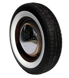 165/15, 145/15 Whitewall radial tires for VW Volkswagen.Radial tires with a 2.25 inch wide whitewalls retain that vintage style and still allow your car to drive and handle at its peak performance. If you have ever wanted that classic whitewall look