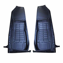 Metal floor pan half halves for VW Volkswagen Bug. 111701061M 113701061 133701061 111701062M 113701062 133701062 These are heavy duty replacement floor pans halves for standard Bug, Super Beetle and Convertibles. Our 1/2 pans for VW