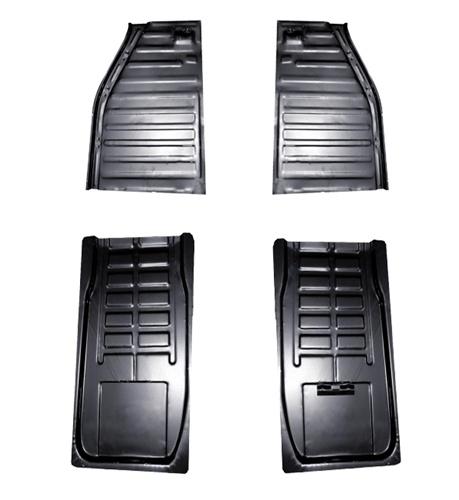 metal floor pan  halves  vw volkswagen bug