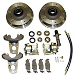 Zero offset front disc brake conversion kit 5 on 205 (wide 5) for VW Volkswagen Bug and Karmann Ghia 401500 401510 401520 22-2880 22-2885 22-2895 This is a 5 on 205 (wide 5 VW pattern) front disc brake kit for ball joint or king and link pin Standard Beet