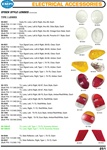 Early headlight glass for VW Volkswagen. Front and rear turn signal lenses. Rear tail light reflectors. STOCK STYLE LENSES (Continued) Type 1 LENSES 98-9501 Early H/L Lens, Left & Right, thru 66, Each (Bulk P/N: 111941115H) 98-9502 Early H/L Lens, Left