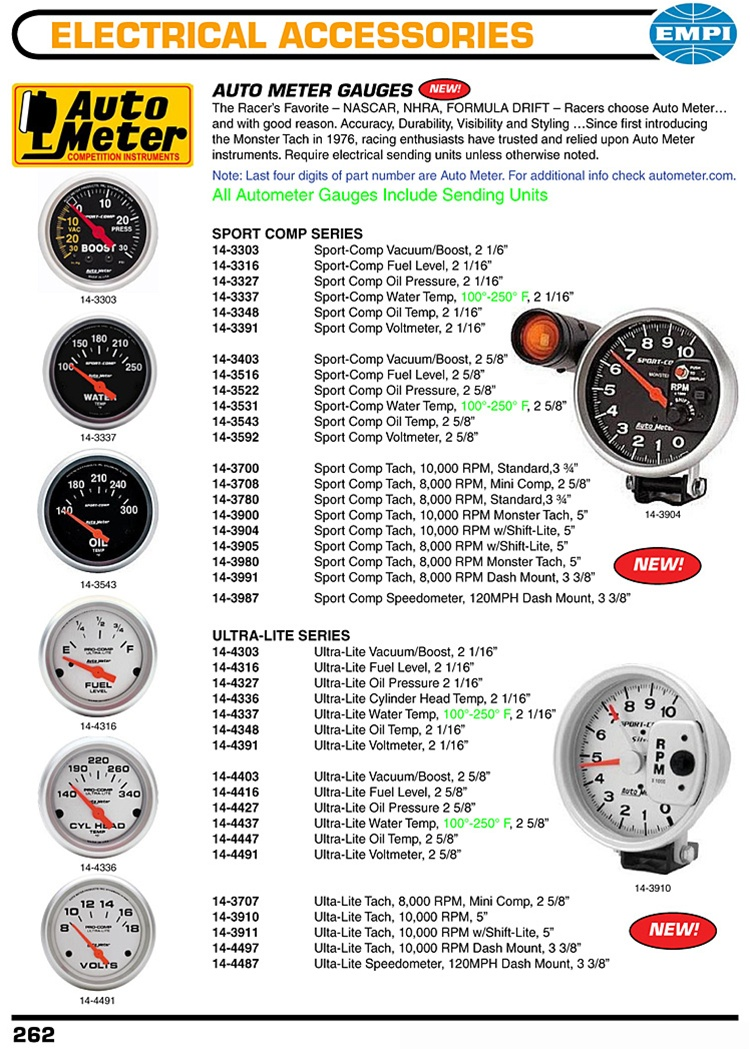 autometer sport comp and ultra lite series gauges monster. Black Bedroom Furniture Sets. Home Design Ideas