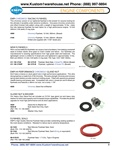 Chromoly racing lightened 8 doweled 200mm 12 volt o ringed crankshaft flywheels, 36 mm gland nuts and washers, main silicone engine flywheel seals for VW Volkswagen motors. EMPI Chromo ly Racing Flywhee l This chromoly version of our lightened flywheel is
