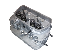 Quality rebuilt 40hp 1200cc, single port, dual port 1600cc, type 2/4 bus 1700cc, 1800cc, 2000cc cylinder heads for air cooled VW Volkswagen Bug, Super Beetle, Karmann Ghia, Kombi, Squareback and Thing. Rebuilt cylinder heads include new valves, new valve