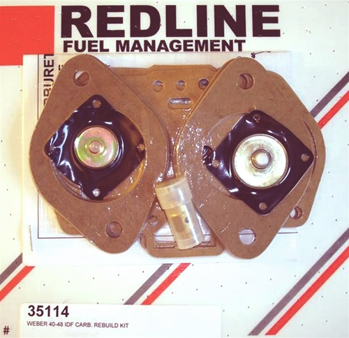 Genuine Redline weber idf 40, 44 and 48 idf rebuild kit