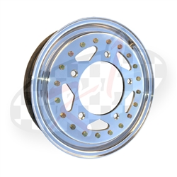 Erco cms wheel,Douglas, Centerline, Weld, saco custom metal spinning, Made in USA CMS spun aluminum heat treated wheels for VW Volkswagen have been the racer choice for years. This Cms spun aluminum wheel is used on Drag cars, offroad buggies and the