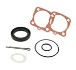 111598051A, This is a complete axle seal kit for  VW Volkswagen Beetle swing axle or IRS trailing arm. This will also work on Bus reduction gear boxes. That is what the extra paper gasket is for.