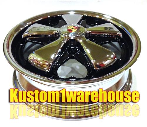 porsche style fuchs alloy wheels  vw volkswagen  originally
