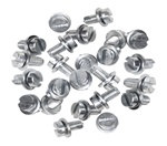 N107108, Engine tin sheet metal screws for VW Volkswagen. New engine tin screws make it easy to get the job done. You need approximately 40 screws per motor. Screws are sold each. 9524