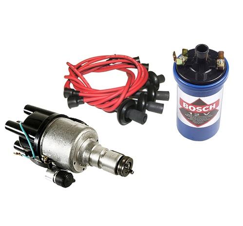 bosch screamer kit  volt coil spark plug wires empi kit pertronix compufire compu tronix