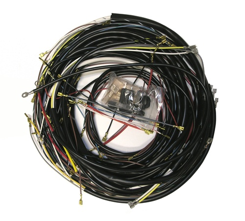 WIRINGHARNESS Bug 4 wiring works, wiringworks vw bug replacement wiring harness wire 74 VW Beetle Wiring Diagram at crackthecode.co