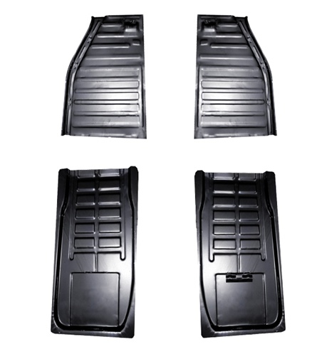 Metal Floor Pan Half Halves For Vw Volkswagen Bug