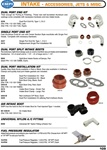 Dual and single port incastings, air and intake manifold boots, fuel pressure regulators for VW Volkswagen. DUAL PORT END KIT Thick enough for Porting & Polishing. These new ball burnished Aluminum end castings come complete with necessary hardware and ne