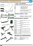 "Chassis Components, T Bars, Bumper brackets and over rider support tubes for VW Volkswagen. ""T"" BARS / TUBE BUMPERS For that original ""Cal look"" or your own look. Choose from T-Bar in chrome or black, tube nerf bar in chrome or chrome universal tubular b"