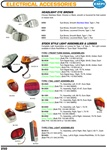 Electrical Accessories, Headlight eye brows, smooth, stainless, louvered, Front turn signal assemblies amber and clear, Rear tail light assemblies red or european style for VW Volkswagen. HEADLIGHT EYE BROWS Choose Stainless Steel, Chrome or Black, smooth