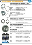 Electrical Accessories, Headlight assemblies, retainers, rims rings, doors, h4 head light conversions, 12 volt bulbs for VW Volkswagen. HEADLIGHT ASSEMBLIES / RETAINERS & RIMS Replace rusted and damaged assemblies or retainers with our high quality headli