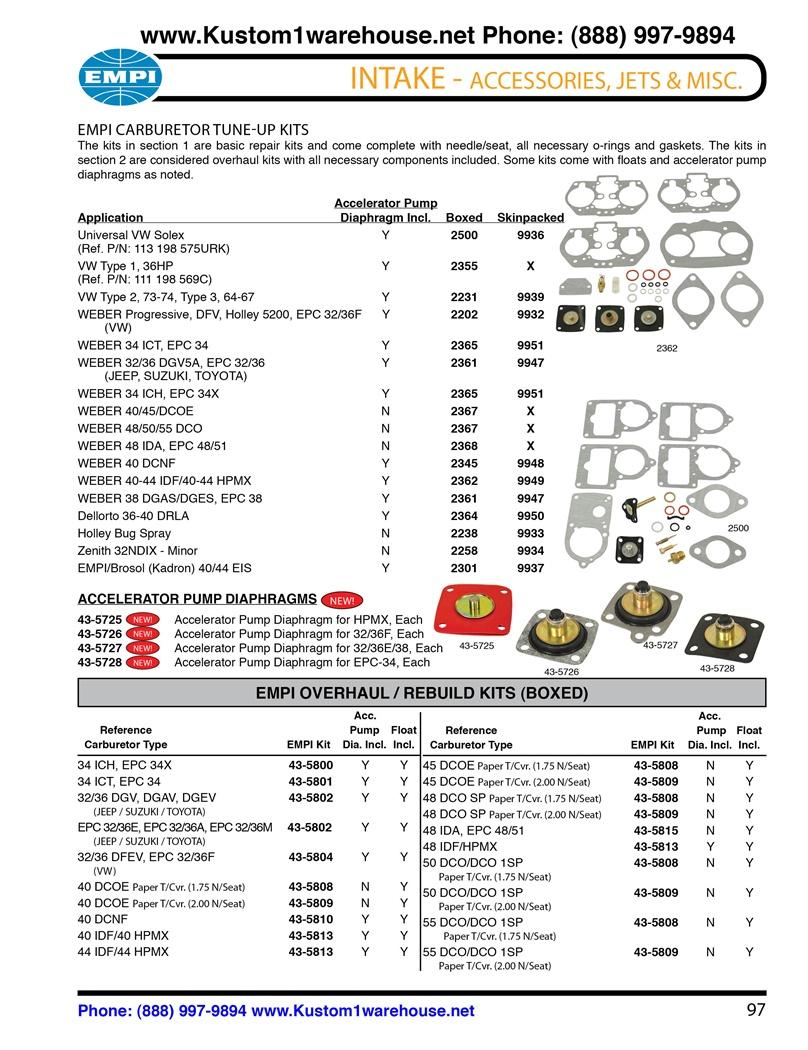Page on Solex Carburetor Diagram