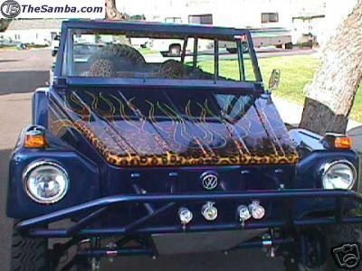 Front Or Rear Pair Of Vw Volkswagen Thing 4 Quot Wider